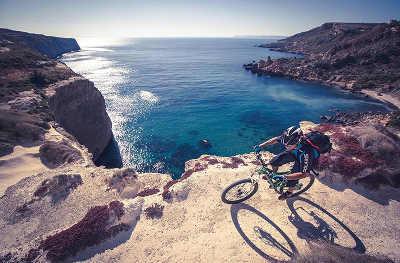 biking in malta